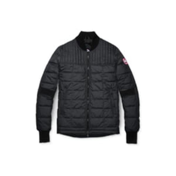 カナダグース メンズ ジャケット&ブルゾン アウター Dunham Slim Fit Packable Down Jacket Black