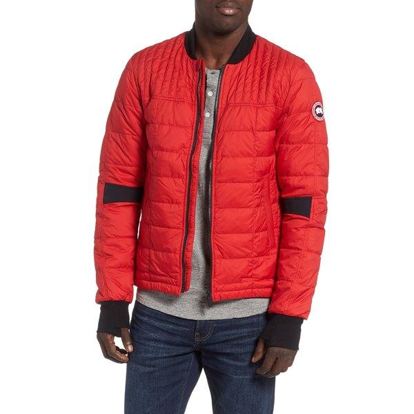 カナダグース メンズ ジャケット&ブルゾン アウター Dunham Slim Fit Packable Down Jacket Red