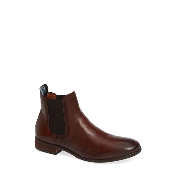 シューザベア メンズ ブーツ&レインブーツ シューズ Arnie Chelsea Boot Brown Leather