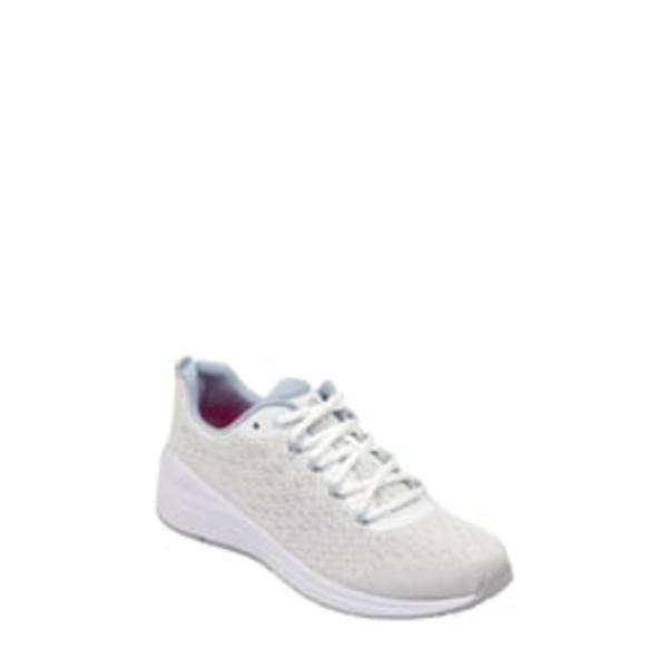 イヴァルヴ レディース スニーカー シューズ Trot2 Sneaker Bright White Fabric