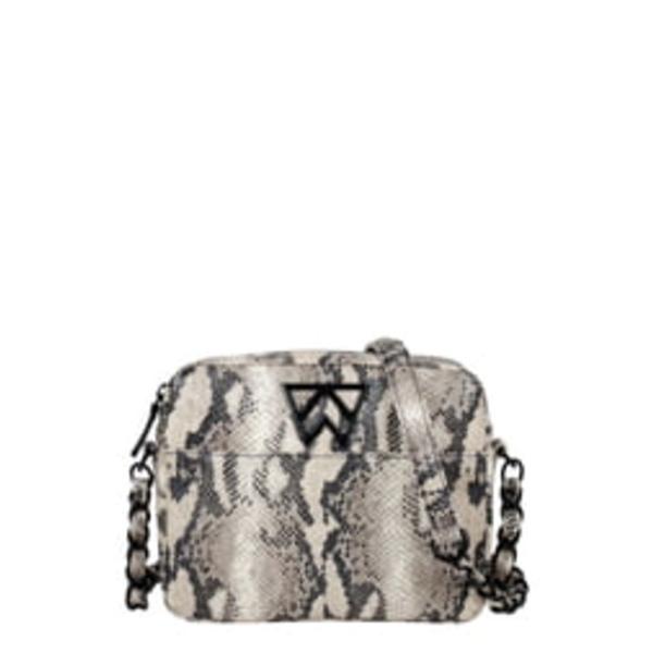ケリーウィン レディース ショルダーバッグ バッグ Mingle Mingle Mini Embossed Leather Crossbody Bag Boss Lady