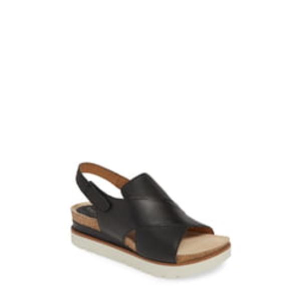 ジョセフセイベル レディース サンダル シューズ Clea 05 Sandal Black Leather