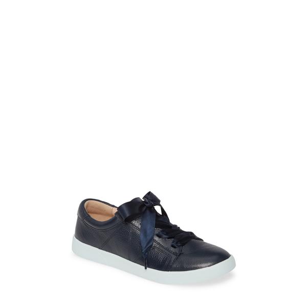 バイオニック レディース スニーカー シューズ Chantelle Sneaker Navy Blue Leather
