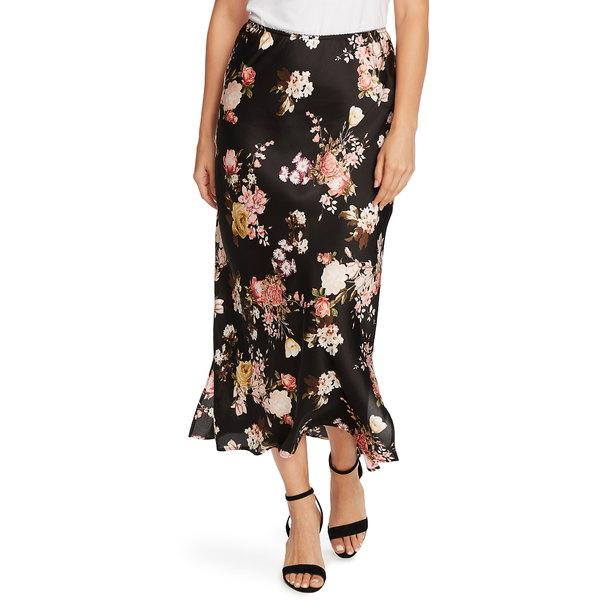 ヴィンスカムート レディース スカート ボトムス Beautiful Blooms Midi Skirt Rich Black
