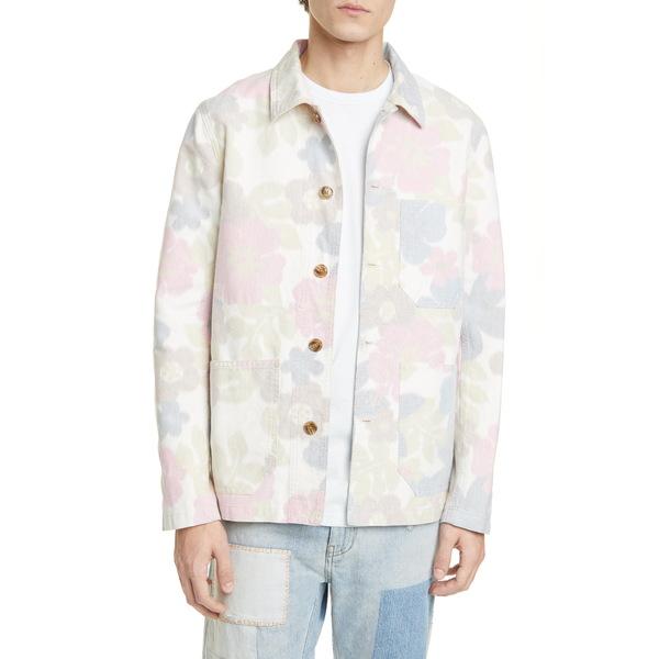 クローズド メンズ ジャケット&ブルゾン アウター Floral Worker Jacket Multi Color