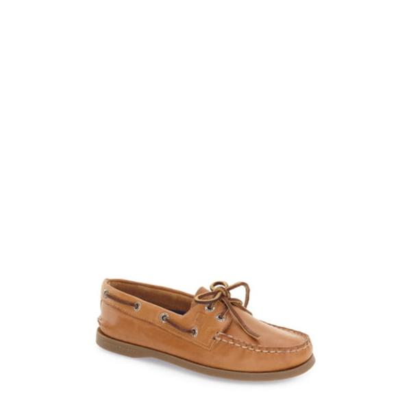スペリー レディース スニーカー シューズ 'Authentic Original' Boat Shoe Nutmeg/ Sahara