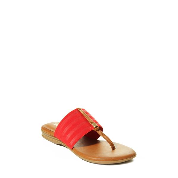 ベネリ レディース サンダル シューズ Yesen Slide Sandal Red Ribbon Fabric
