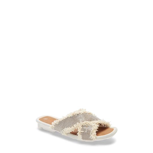 バーニーメブ レディース サンダル シューズ Thistle Slide Sandal Clear Fabric
