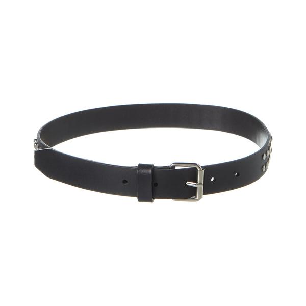 ヴェルサス ヴェルサーチ レディース ベルト アクセサリー VERSUS by Versace Leather Belt black leather