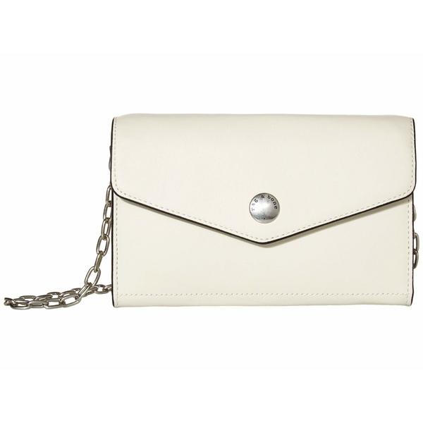ラグアンドボーン レディース ハンドバッグ バッグ Atlas Wallet with Chain Antique White