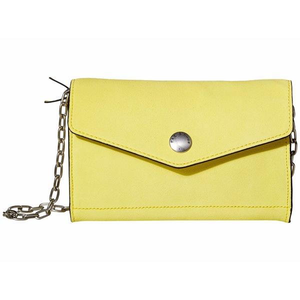 ラグアンドボーン レディース ハンドバッグ バッグ Atlas Wallet with Chain Spring Yellow Suede
