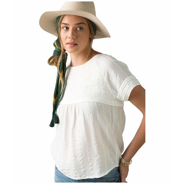 プラーナ レディース シャツ トップス Pinoit Top Soft White