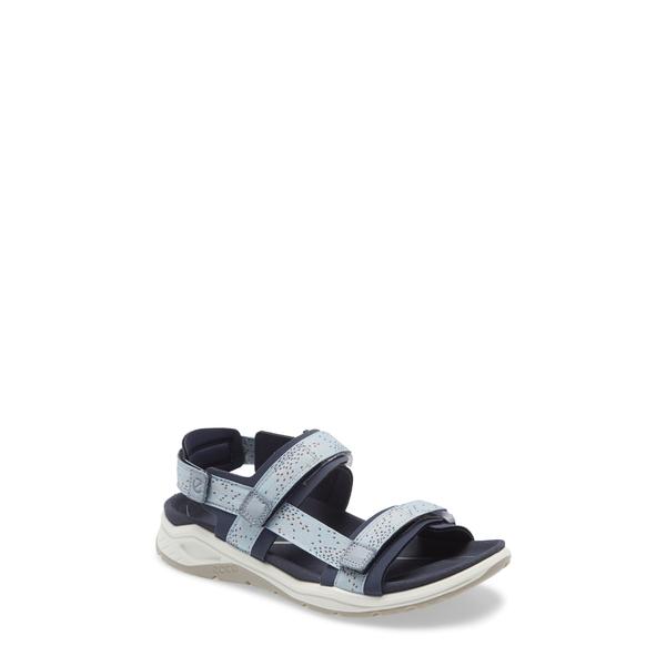エコー レディース サンダル シューズ X-Trinsic Sandal Marine/ Dusty Blue Fabric