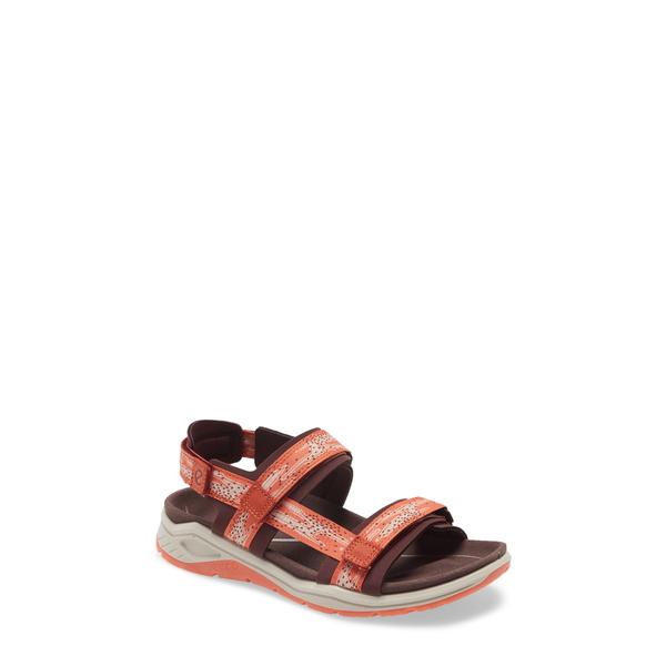 エコー レディース サンダル シューズ X-Trinsic Sandal Fig/ Apricot Fabric