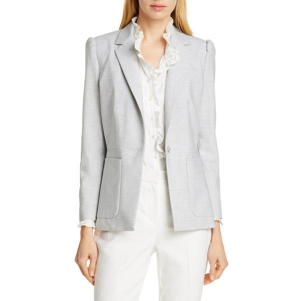 テーラード・バイ・レベッカ・テイラー レディース ジャケット&ブルゾン アウター Clean Suiting Blazer Light Heather Grey