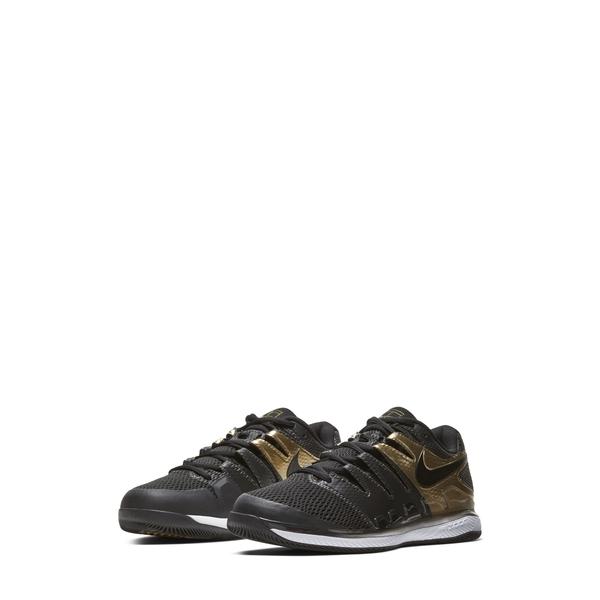 ナイキ メンズ スニーカー シューズ Court Air Zoom Vapor X Tennis Shoe Black/ Gold/ White