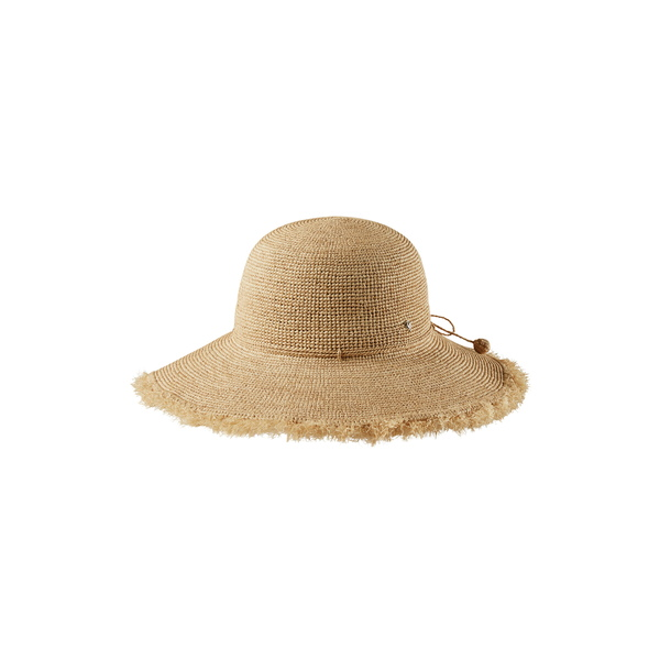 ヘレンカミンスキー レディース ヘアアクセサリー アクセサリー Fringed Wide Brim Hat Natural/ Natural Fringe