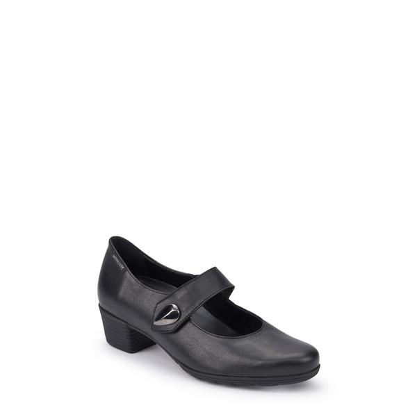 メフィスト レディース パンプス シューズ Isora Mary Jane Pump Black Leather