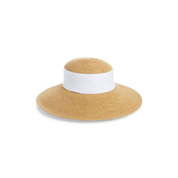 サンディエゴハット レディース ヘアアクセサリー アクセサリー Collapsible Crown Sun Hat White