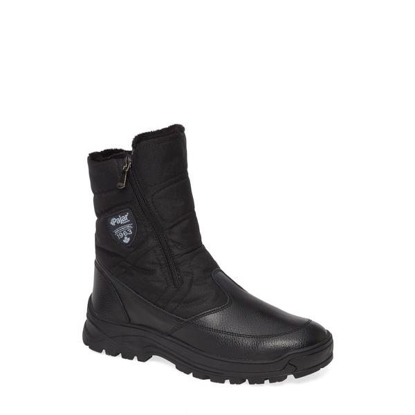 パジャール メンズ ブーツ&レインブーツ シューズ Mirko Waterproof Insulated Boot Black