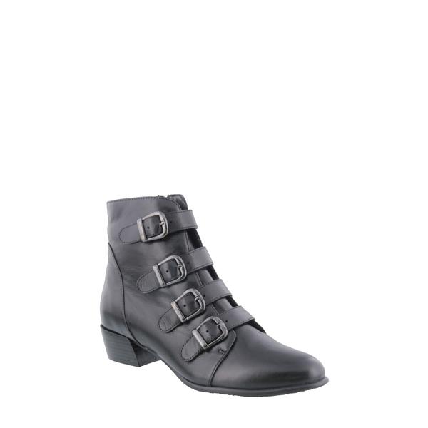 スプリングステップ レディース ブーツ&レインブーツ シューズ Rebeca Boot Black Leather
