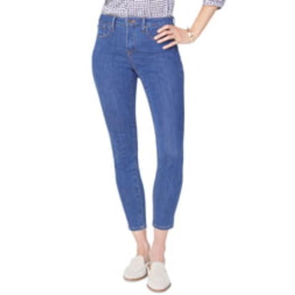 エヌワイディージェイ レディース デニムパンツ ボトムス Ami Skinny Jeans Batik Blue