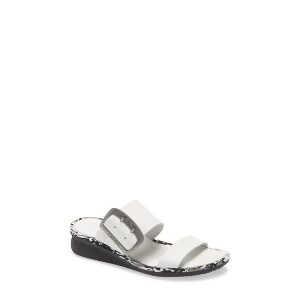 フライロンドン レディース サンダル シューズ Cape Slide Sandal Off White Brooklyn Leather