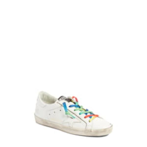 ゴールデングース レディース スニーカー シューズ Superstar Rainbow Low-Top Sneaker White/ Rainbow