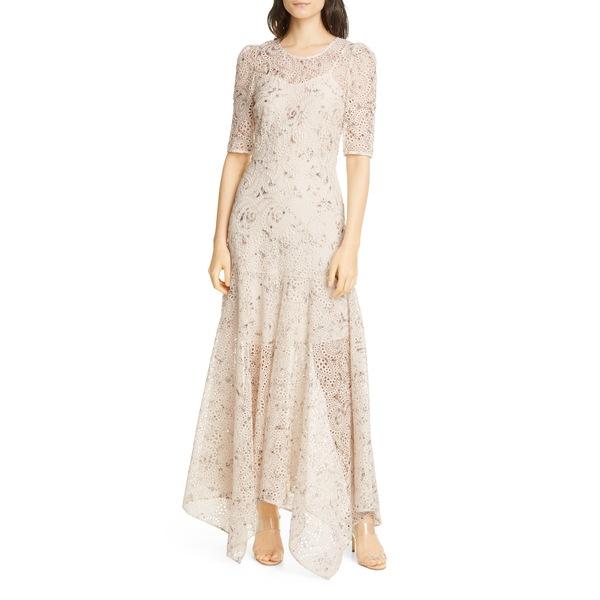 ヴェロニカ ベアード レディース ワンピース トップス Balsam Eyelet Maxi Dress White Multi