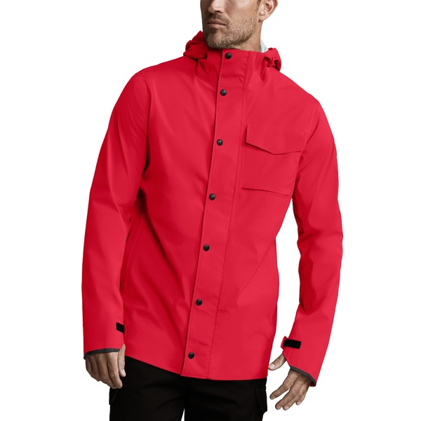 カナダグース メンズ ジャケット&ブルゾン アウター Nanaimo Windproof/Waterproof Jacket Red