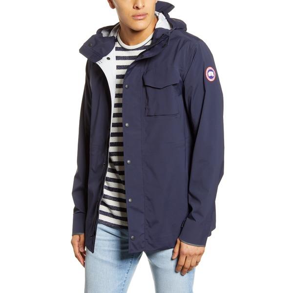 カナダグース メンズ ジャケット&ブルゾン アウター Nanaimo Windproof/Waterproof Jacket Admiral Navy
