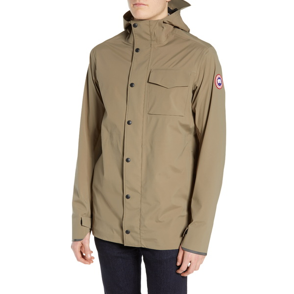 カナダグース メンズ ジャケット&ブルゾン アウター Nanaimo Windproof/Waterproof Jacket Lichen