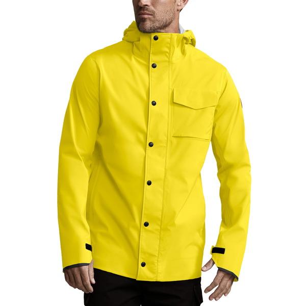 カナダグース メンズ ジャケット&ブルゾン アウター Nanaimo Windproof/Waterproof Jacket Overboard Yellow