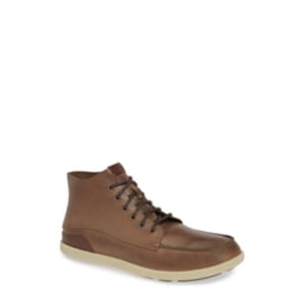 オルカイ メンズ ブーツ&レインブーツ シューズ Nalukai Boot Husk/ Silt Leather