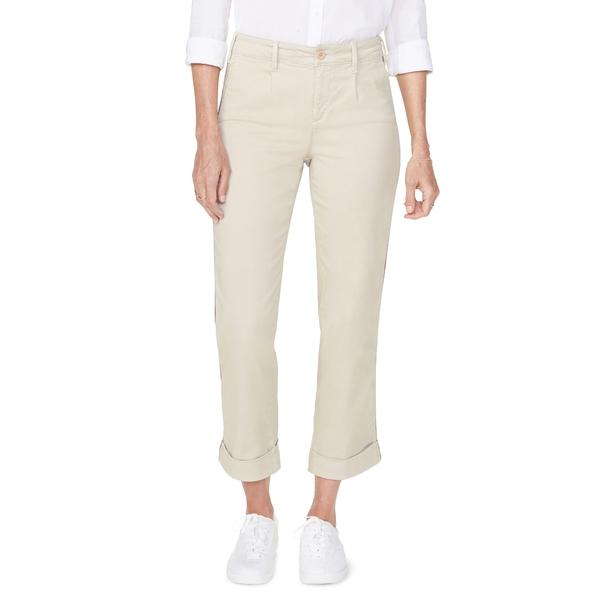 エヌワイディージェイ レディース カジュアルパンツ ボトムス Straight Leg Ankle Cotton Blend Chino Pants Feather