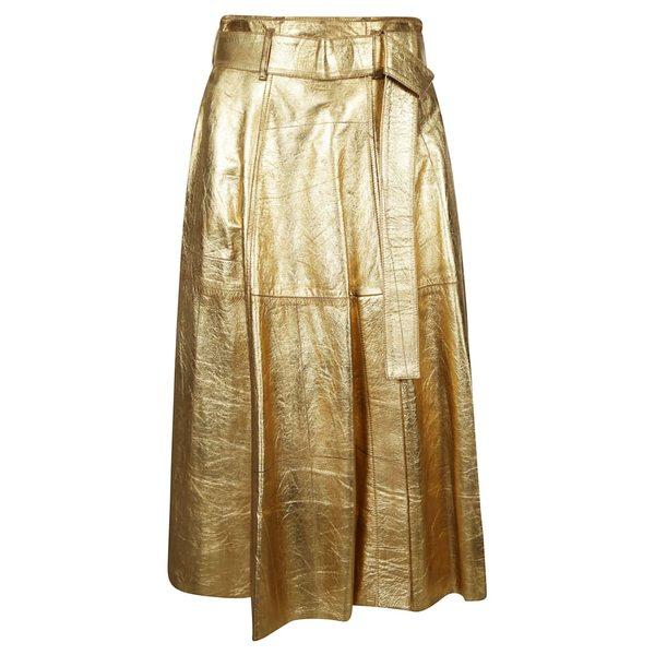 ゴールデングース レディース スカート ボトムス Golden Goose Akemi Skirt Gold