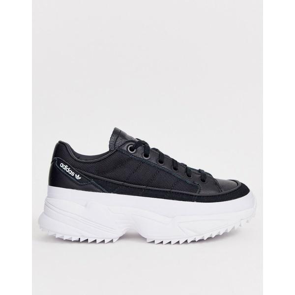 アディダスオリジナルス レディース スニーカー シューズ adidas Originals Kiellor sneakers in black Black