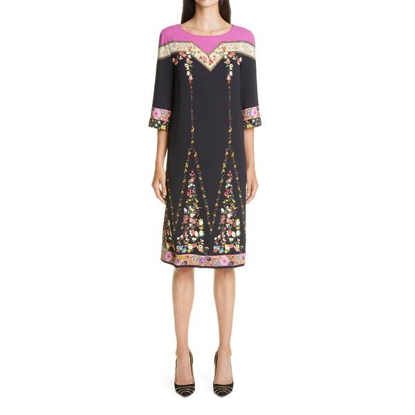 エトロ レディース トップス ワンピース 1 Paisley Shift 大特価 全商品無料サイズ交換 Dress 本店 BLACK