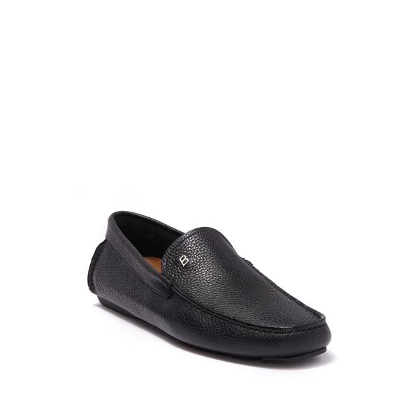 バリー メンズ スリッポン·ローファー シューズ Wander-U-O 90 Leather Loafer 0100 BLACK