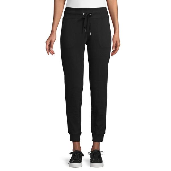 カルバンクライン レディース カジュアルパンツ ボトムス Cotton-Blend Jogger Pants Black