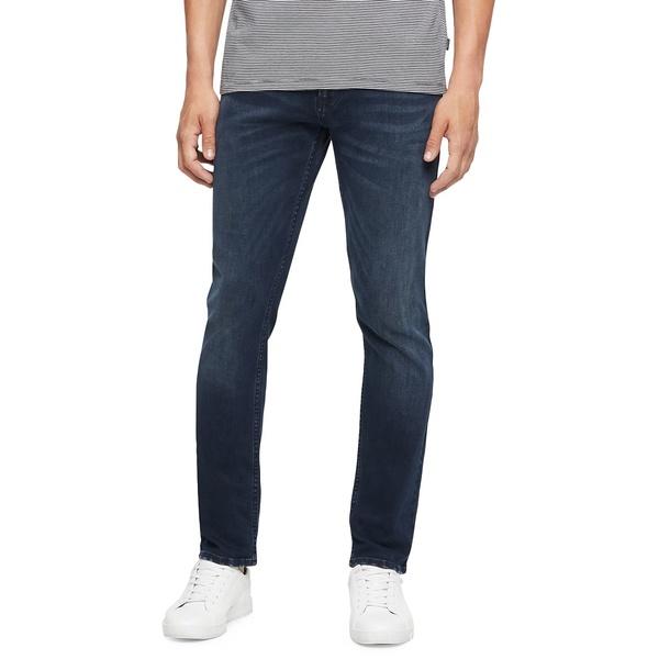 カルバンクライン メンズ デニムパンツ ボトムス CKJ 035 Straight-Fit Jeans Boston Blue