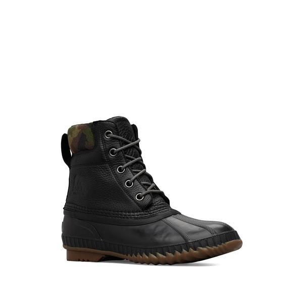 ソレル メンズ ブーツ&レインブーツ シューズ Cheyanne II Premium Camo Hiking Boots Black Alpine Tundra