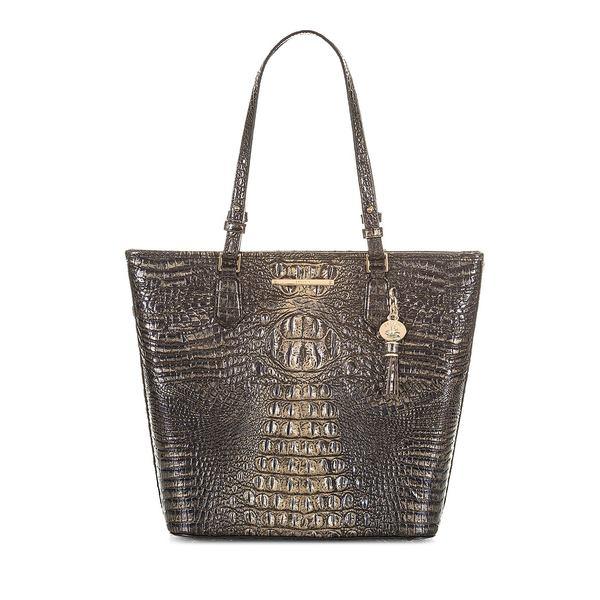 ブランミン レディース ハンドバッグ バッグ Melbourne Asher Leather Tote Bag Umbra