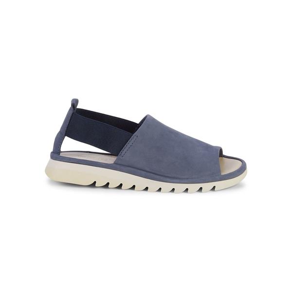 ザフレックス レディース サンダル シューズ Shore Line Leather Sandals Navy Blue