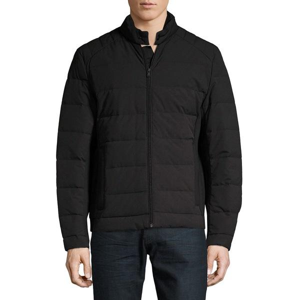 マイケルコース メンズ ジャケット&ブルゾン アウター Full-Zip Down Puffer Jacket Black