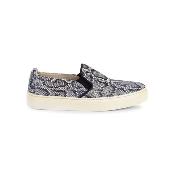 ザフレックス レディース スニーカー シューズ Sneak Name Woven Leather Slip-On Sneakers Roccia Jack