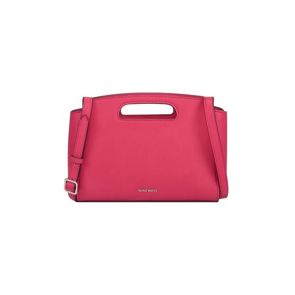 ナインウェスト レディース ショルダーバッグ バッグ Marisol Cutout Faux Leather Crossbody Bag Haute Pink