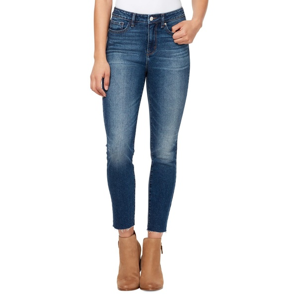 ウィリアム ラスト レディース デニムパンツ ボトムス Sculpted High Rise Ankle Skinny Jeans Washed Cobalt