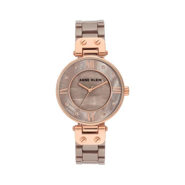 アンクライン レディース 腕時計 アクセサリー Rose Goldtone, Swarovski Crystal & Mother-Of-Pearl Ceramic Bracelet Watch Rose Gold