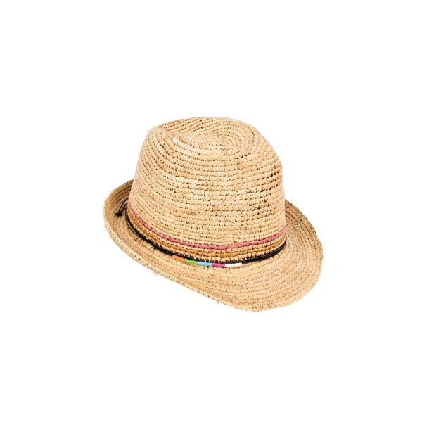 ピーターグリム レディース 帽子 アクセサリー Opal Straw Fedora Natural